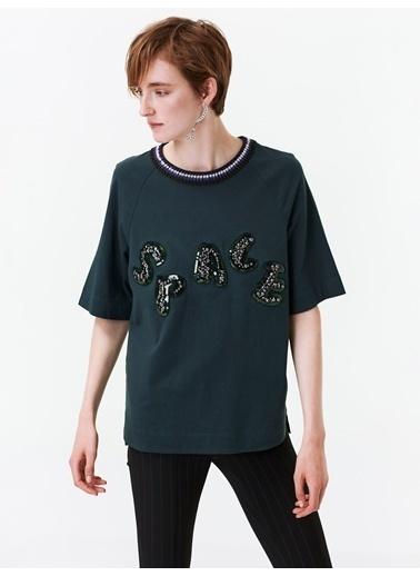 Twist Tişört Yeşil